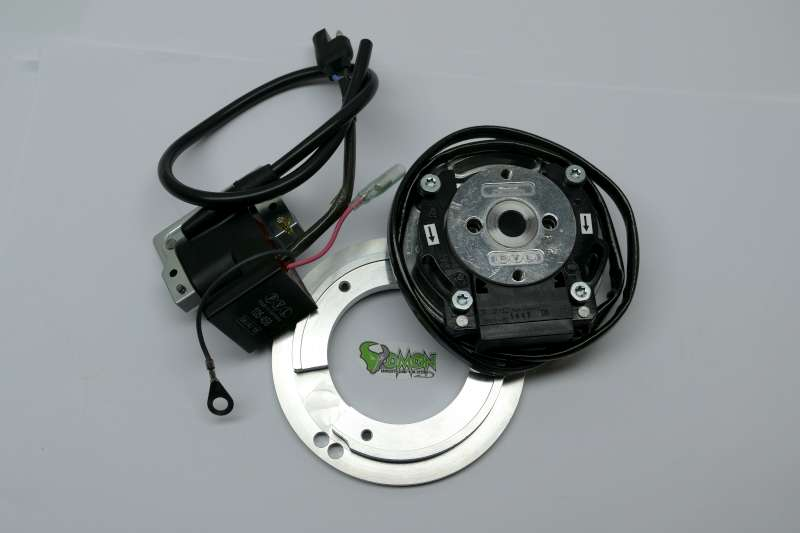 Rennsport-Teile Auto & Motorrad: Teile PVL complete Analog system 13 ° for YAMAHA DT 50 incl adapterplate